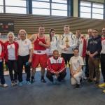 Boxteam SSV Jahn bei Ostbayer. Meisterschaft 2015